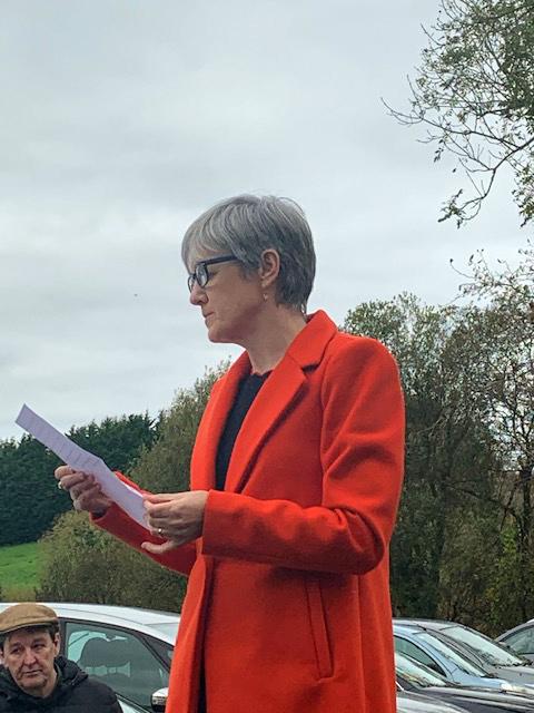 Loretta McDonagh, Director of Services of Mayo Rape Crisis Centre