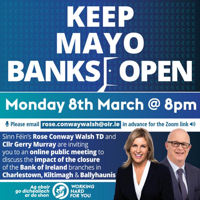 Keep Mayo Banks Open